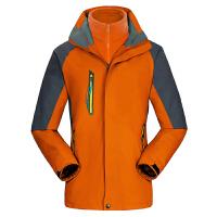 冬季冲锋衣男女三合一加厚两件套防风防水透气西藏户外潮牌登山服新品