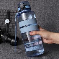 大容量潮流学生运动水壶户外男女士健身防摔便携随手塑料水杯 1
