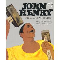 John Henry: An American Legend (Dragonfly Books) 约翰-亨利:美国传奇