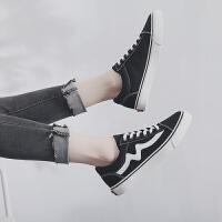 小白鞋女ins同款帆布鞋学生韩版百搭平底原宿ulzzang板鞋