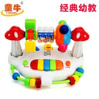 儿童早教摇铃旋转床铃6-12个月男孩女宝宝玩具