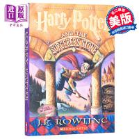 【中商原版】哈利波特与魔法石1 英文原版Harry Potter and the Sorcerer's Stone 哈