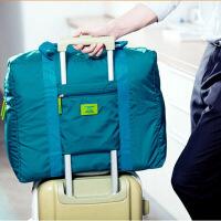 �n版防水尼��折�B式旅行收�{包 旅游收�{袋 男女士衣服整理袋 �G色(文描已更新)