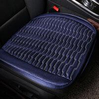 汽车坐垫夏季单片无靠背三件套单个后排座荞麦壳车垫四季通用座垫