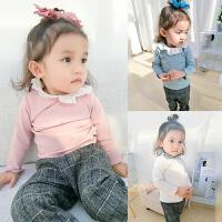 女童打底衫春秋婴儿衣服春装1岁6个月宝宝长袖T恤春季上衣