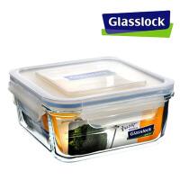 三光云彩GLASSLOCK钢化玻璃饭盒微波炉保鲜盒RP534 1200ML