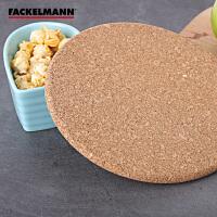 Fackelmann/法克曼软木锅垫隔热垫直径 木垫子 餐桌垫 19cm 5203881