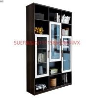 家私 书柜书架组合家具组装柜子简约现代办公室书柜 0.8-1米宽