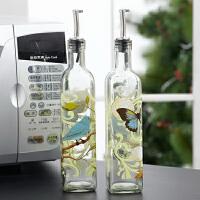 【12.10-12.12限时5折】Evergreen爱屋格林创意厨房用品油壶酱油瓶调味瓶大号500ml玻璃油瓶
