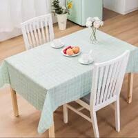 北�W餐桌布防水防�C防油免洗塑料桌布格子�_布茶�撞�PVC�w布桌� 