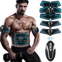 八块腹肌贴 运动健身器材家用腹肌轮训练锻练肌肉懒人收腹机健腹仪腹部贴 CX