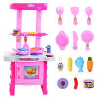 女孩玩具儿童过家家玩具 仿真餐具厨房做饭煮饭过家家厨房玩具厨具餐具套装