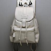 双肩真皮包女休闲旅行包时尚女士背包书包