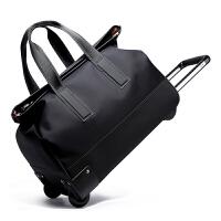 防水手提拉杆包旅行包女拉杆袋折叠行李包男士商务登机大容量拉包