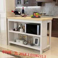 实木吧台桌家用简约现代高脚桌客厅隔断柜中岛台厨房吧台桌椅组合 组装 框架结构