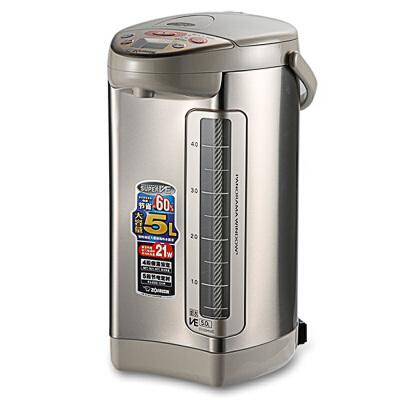 ZOJIRUSHI/象印 CV-DSH50C高级健康电热水瓶电热水壶原装进口5L 官方正品 双层真空 除氯技术 产地日本
