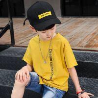 童装男童短袖t恤夏装中大童半袖上衣洋气儿童体恤