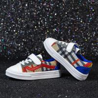 儿童运动鞋男童鞋子夏季女童板鞋透气网鞋小白鞋