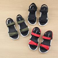 男童凉鞋夏季中大童小童软底宝宝女童儿童沙滩鞋