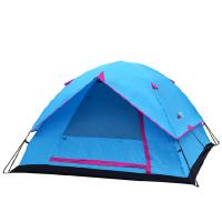 帐篷户外2-3-4人野外露营钓鱼家庭简易自驾游户外帐篷