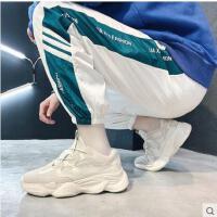 新款户外新品网红同款男鞋韩版潮流男士运动休闲鞋百搭透气跑步鞋时尚潮鞋