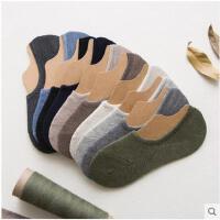 袜子男士棉袜冷淡四季原宿风纯色袜防臭袜日系透气十色浅口隐形袜