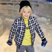 【2件5.5折到手价:130】小猪班纳童装男童棉衣新款冬季夹棉外套儿童拉链衫加厚保暖夹克衫