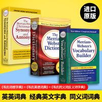 Merriam Webster's Vocabulary Builder 韦氏字根词根词典+同义词反义词+韦氏英语词典