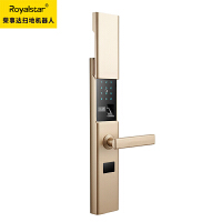 指纹锁家用防盗门密码锁大门锁刷卡磁卡感应通用电子智能锁