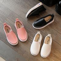 春季款儿童运动鞋男童潮鞋休闲鞋女童单鞋低帮板鞋小白鞋