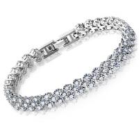 礼无忧 奥地利�钻水晶 礼物手链 送女友 生日惊喜 创意礼品 母亲节礼物520情人节