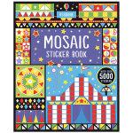 Mosaic Sticker Book,创意马赛克贴画 趣味儿童艺术创作 英文原版