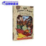 怪诞小镇英文原版 Dipper and Mabel and the Curse of the Time Pirates