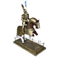 欧式复古骑士模型摆件 铁质骑士盔甲武士摆件 客厅装饰品