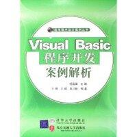 Visual Basic程序开发案例解析――通用程序设计案例丛书