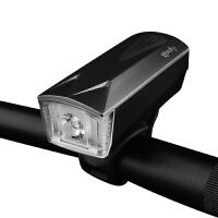自行车灯车前灯充电喇叭强光手电筒5w山地车配件夜骑t6骑行装备