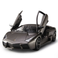 1 18仿真合金雷文顿跑车汽车模型兰博基尼车模摆件玩具
