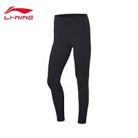 李宁健身裤女士训练系列2020新款紧身梭织长裤运动裤AULQ046