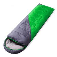 睡袋春夏户外野营分腿睡袋可拼接信封式旅行单人双人睡袋 (190+30)*75cm 2.2KG