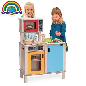[当当自营]泰国Wonderworld 厨师站 过家家角色扮演益智玩具 厨房大件玩具 幼儿园玩具
