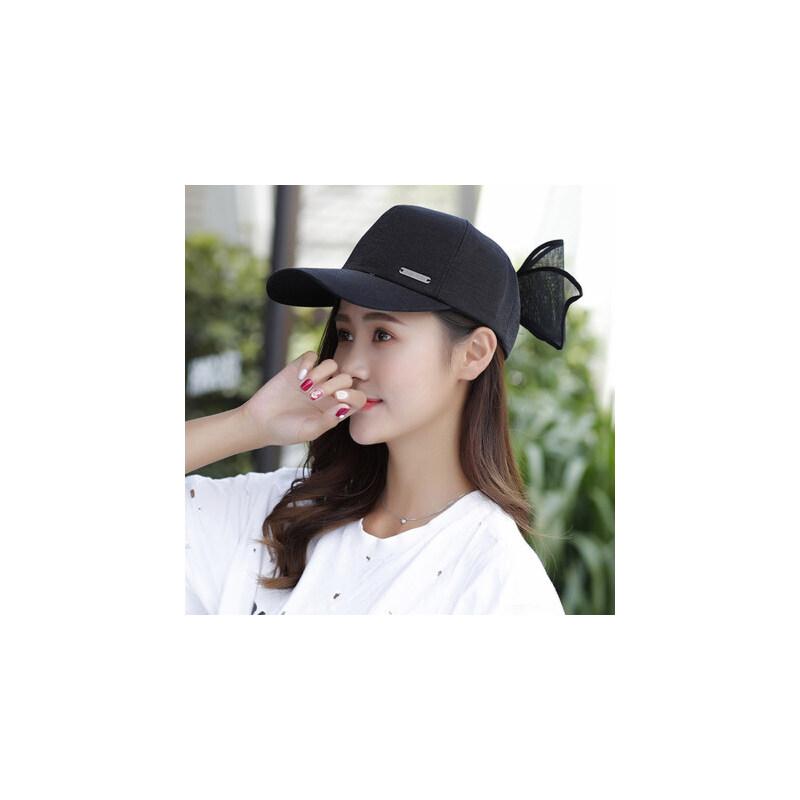 帽子女韩版休闲百搭鸭舌帽街头潮人学生太阳帽防晒遮阳棒球帽