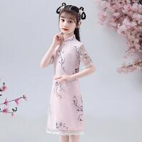 女童旗袍裙女孩宝宝儿童唐装连衣裙中国风演出服