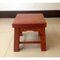 20190709210542601木四方凳 中式古典家具凳子 实木休闲凳