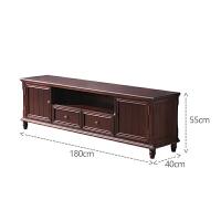 美式家具现代轻奢餐边酒柜实木单门欧式装饰储物柜客厅靠墙小酒柜 单门
