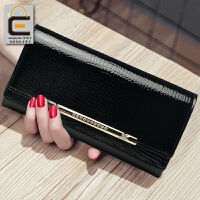 2018新款女士钱包女长款日韩版钱夹女款皮夹大容量手拿包女式牛皮