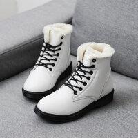 马丁靴女英伦风棉鞋女加绒学生雪地短靴女靴百搭女鞋子