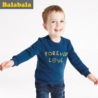 巴拉巴拉童装男童女童卫衣宝宝上衣2016冬装新款儿童套头卫衣T恤