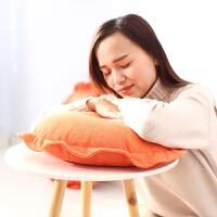 懒人榻榻米亚麻蒲团圆形椅垫加厚棉麻餐椅垫日式椅子坐垫地上靠垫