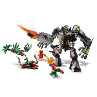 【当当自营】LEGO乐高积木超级英雄系列76117 7岁+蝙蝠侠机甲大战毒藤女