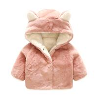 宝宝衣服秋装0岁6月童上衣新生儿外套秋冬季婴儿加厚外出